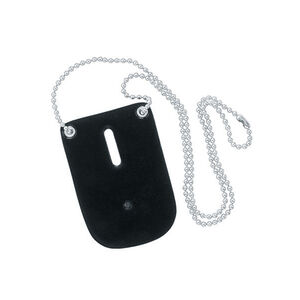 Safariland Model 7352 Badge Holder with Neck Chain Shield Style Black