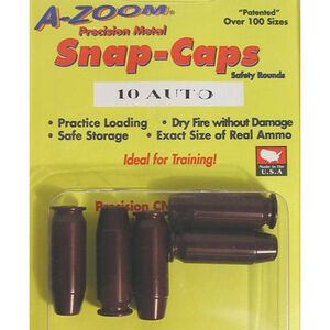 A-Zoom 10mm Auto Snap Caps 5 Pack