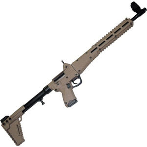 "Kel-Tec SUB-2000 G2 9mm Luger Semi Auto Rifle 16.25"" Barrel 17 Rounds M-Lock Compatible M&P Mags Adjustable Stock Tan"