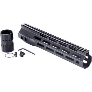 "Wilson Combat LR-308 High Profile MLOK Rail 10.6"" Free-Float Handguard Aluminum Black"