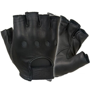 Damascus Protective Gear Driving Gloves Leather Small Black D22SSM