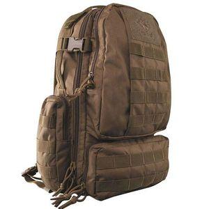 "Tru-Spec Circadian Backpack 16""x10""x7"" Ballistic Pack Cloth Coyote 4816000"