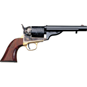 """Taylor's & Co 1872 Open Top Navy Revolver 45 LC 5.5"""" Barrel 6 Rounds Walnut Grip Blued"""