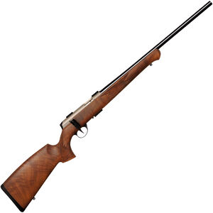 "Anschutz 1727 F Bolt Action Rifle .17 HMR 22"" Match Barrel 4 Rounds Match Two Stage Trigger German Walnut Stock Blued Barrel/Silver Receiver 2060001"