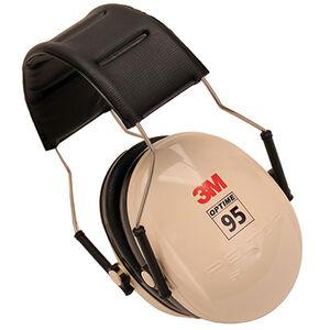 Peltor 3M Optime 95 Over the Head Earmuffs NRR 21 dBA Beige/Black H6A/V