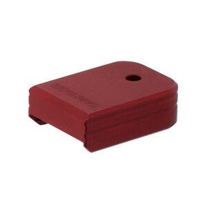 UTG PRO +0 Base Pad, Glock Small Frame, Matte Red Aluminum