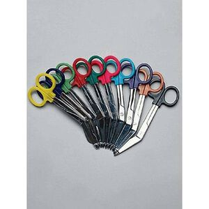 Emergency Medical International Colorband Scissors Black 310