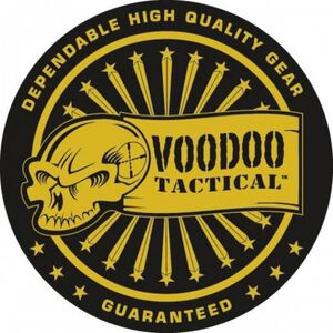 Voodoo Tactical Round Challenge Coin Gold and Black raised effects