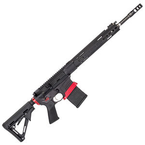 """Savage Arms MSR 10 Competition Semi Auto Rifle .308 Winchester 20 Rounds 18"""" Barrel Side Charger Free Float M-LOK Hand Guard Magpul CTR Stock Black"""