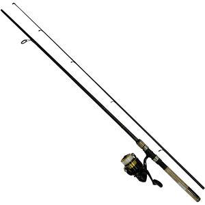 D-Shock Freshwater Spinning Combo 3000, 7' Length, 2 Piece Rod, 6-14 lb Line Rating, Medium Power