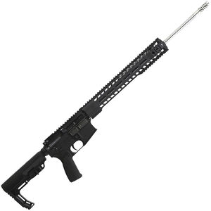 "Radical Firearms AR-15 Semi Auto Rifle 6.5 Grendel 10 Rounds 20"" Stainless Steel Barrel 15"" Free Float MHR Handguard MFT Minimalist Collapsible Black"
