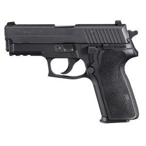 "SIG Sauer P229 Nitron Compact Semi Auto Pistol 9mm Luger 3.9"" Barrel 10 Rounds SIGLite Sights SIG Rail E2 Grip Alloy Frame Matte Black Finish"