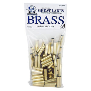 Great Lakes Firearms and Ammunition .460 S&W Magnum New Unprimed Brass 100 Pack B687610