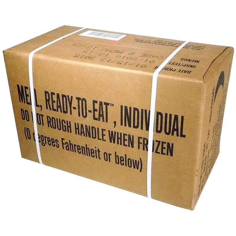 "U.S. Original Case ""B"" MRE Menus  #13-24 NSN 8970-00-149-1094"