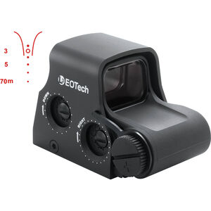 EOTech XPS2 Tactical Holographic Weapon Sight FN Less Lethal Reticle Single CR123A Battery XPS2-FN