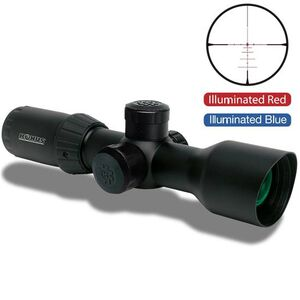 Konus KonusPro T30 3-12x44 Riflescope Dual Illuminated 550 BDC 30mm Matte Black 7291
