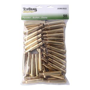 Top Brass .50 BMG Reconditioned Brass 50 Count Bag
