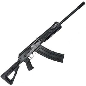 "Kalashnikov USA KS-12T Tactical Semi Automatic Shotgun 12 Gauge 3"" Chamber 18.25"" Barrel 10 Round Magazine Fixed Sights Polymer Furniture Matte Black"