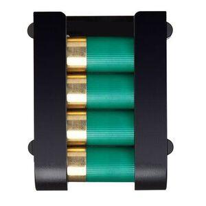 "Safariland Model 85 Shotgun Shell Carrier 12 Gauge 2-3/4"" Shells 4 Round Capacity Tactical Mount Polymer Black 085-12-23"