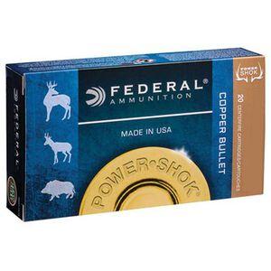 Federal Premium Power-Shok 300 Winchester Magnum Ammunition 20 Rounds 180 Grain Copper Hollow Point 2960fps