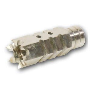 "DMA, Inc. XTS .30 Caliber 5/8""X24 Shark Style Muzzle Brake Stainless"