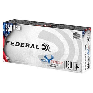 Federal Non-Typical .350 Legend Ammunition 20 Rounds 180 Grains NTSP 2100 fps