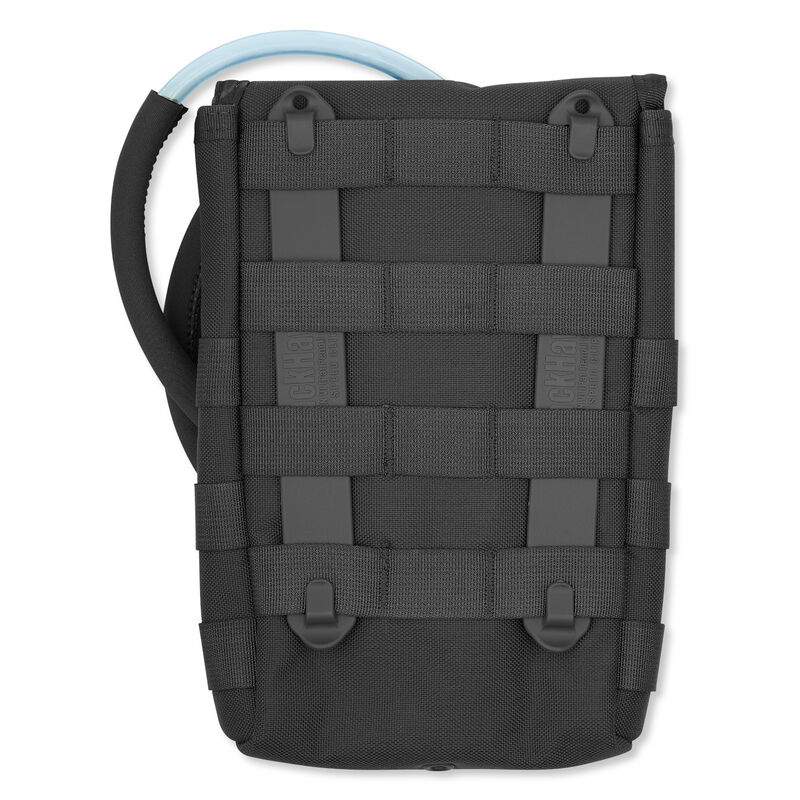 BLACKHAWK! Side Hydration Pouch MOLLE Compatible Nylon Black