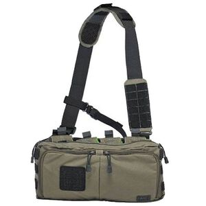 5.11 Tactical 4 Banger Bag Cross Body Strap 1050D Tear Resistant Nylon OD Trail 56181-236