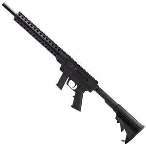"Just Right Carbine Gen 3 9mm Luger Semi Auto Rifle 17"" Barrel 17 Rounds S&W M&P Magazines 13"" KeyMod Handrail Black"