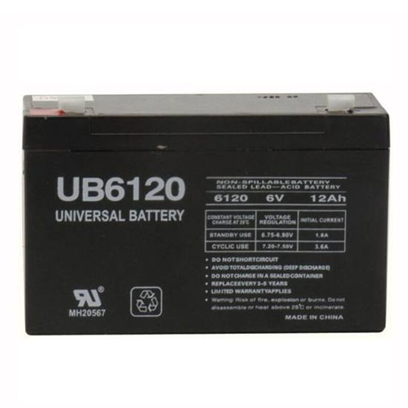 Streamlight LiteBox Extra 6V Battery 45937