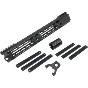 "Manticore AR-15 13"" Transformer Gen II Handguard Modular Free Float Rail System Aluminum Black"