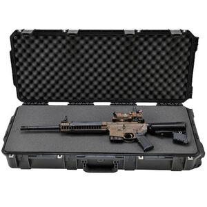 "SKB Sports iSeries 3614 M4 Short Single Rifle Hard Case 36.5"" Waterproof with Padlock Holes Polymer Black 3I-3614-6B-L"
