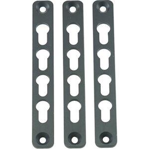 Manticore Key-Mod Panels for Transformer Handguard Polymer Black 3 Pack