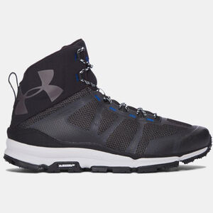 "Under Armour UA Verge Mid Hiking Boot 6"" Men's Size 13 Regular Black"
