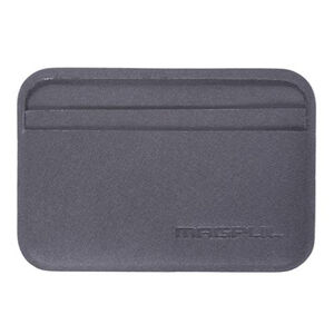 "Magpul DAKA Everyday Wallet 4.2"" x 2.84"" Polymer Textile Gray"