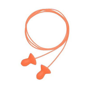 Howard Leight Quiet Corded Earplugs Orange R-10522