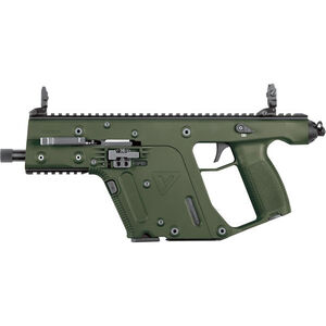 "KRISS USA Vector SDP G2 9mm 5.5"" Threaded Barrel 17 Rounds OD Green"
