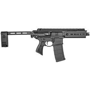"SIG Sauer MCX Rattler 5.56 NATO Semi Auto Pistol 5.5"" Barrel 30 Rounds SIG Enhanced Trigger Free Float M-LOK Hand Guard Pistol Stabilizing Brace Stealth Black Finish"