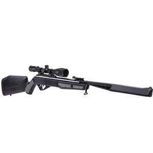 Benjamin Sheridan Mayhem Nitro Piston 2 Powered Break Barrel Air Rifle .177 Caliber 1400 fps with 3-9x40mm Scope Synthetic Stock Black