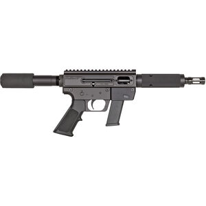 """Just Right Carbine Takedown Semi Auto Pistol 9mm Luger 6.5"""" Barrel 17 Rounds Tube Style Forend Black"""