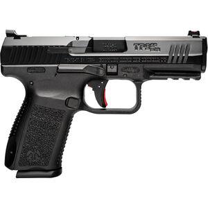 "Canik TP9SF Elite 9mm Luger Semi Auto Pistol 4.19"" Match Grade Barrel 15 Rounds Fiber Optic Front Sight Polymer Frame Black Finish"