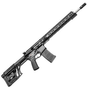 "POF USA Renegade Plus SPR Semi Auto Rifle .223 Wylde 18.5"" Barrel 30 Rounds Direct Gas Impingement System M-LOK Rail Luth-AR MBA Stock Matte Black Finish"