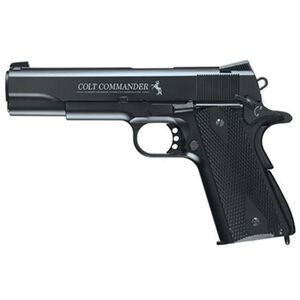 RWS Umarex USA Colt Commander .177 Caliber Semi Auto CO2 Powered Air Pistol Black 2254028