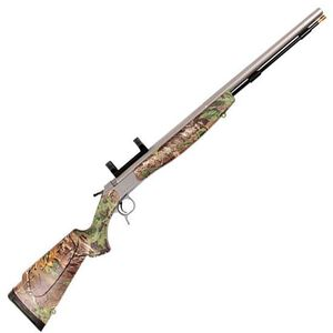 "CVA Optima V2 Muzzleloader Rifle .50 Caliber 26"" Barrel with Dead On Scope Mount Composite Stock Realtree Xtra Green Hardwood Finish PR2022SM"