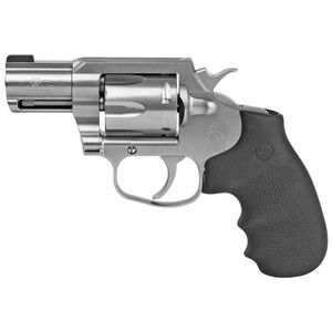 """Colt King Cobra .357 Magnum Double Action Revolver 2"""" Barrel 6 Round Cylinder Bead Front Sight Trench Rear Matte Brushed Stainless Steel Finish"""