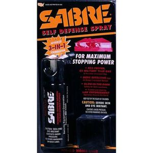 SABRE 3 in 1 Home Defense Spray With Mount 2.5 Ounces HM80
