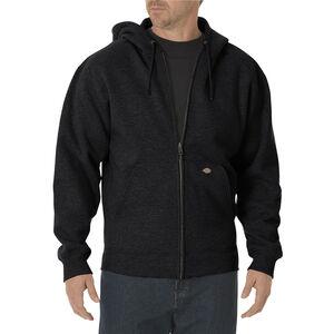 Dickies Men's Midweight Fleece Full Zip Hoodie 3XL Black