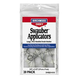 Birchwood Casey Swauber Applicators 20 Pack