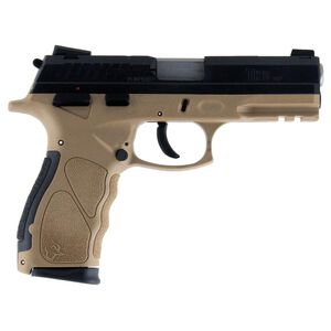 "Taurus TH9 9mm Luger Full Size Semi Auto Pistol 4.27"" Barrel 17 Rounds Novak Sights Polymer Frame Tan Finish"