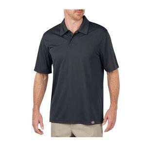 Dickies Men's WorkTech Short Sleeve Performance Polyester Polo Shirt Medium Dow Charcoal LS405DC